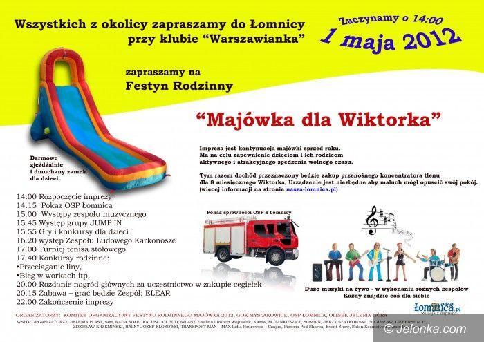 Łomnica: Jutro charytatywny festyn w Łomnicy