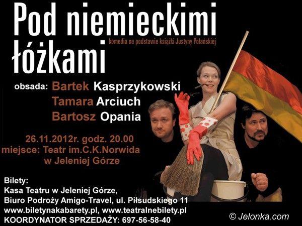 """Jelenia Góra: """"Pod niemieckimi łóżkami"""" w Teatrze Norwida"""