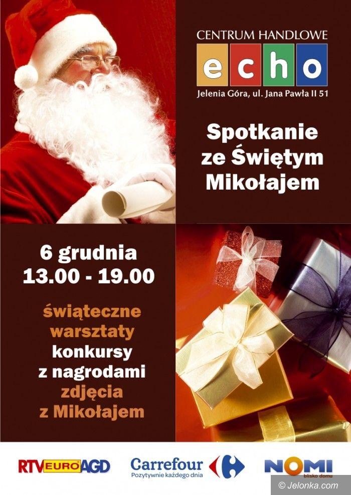 Jelenia Góra: Św. Mikołaj rozda prezenty w centrum handlowym na Zabobrzu