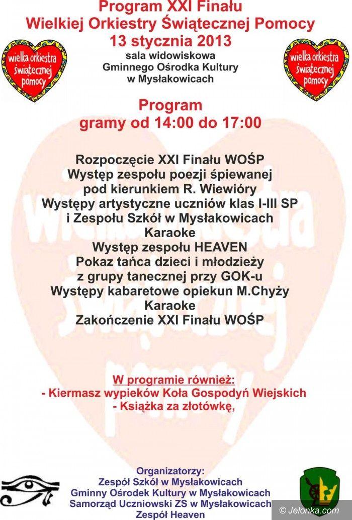 Region: Wielka Orkiestra Świątecznej Pomocy zagra w Mysłakowicach