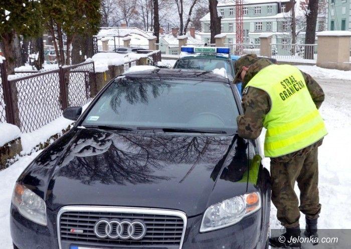 Jelenia Góra: Straż Graniczna odzyskała samochód skradziony kilka lat temu