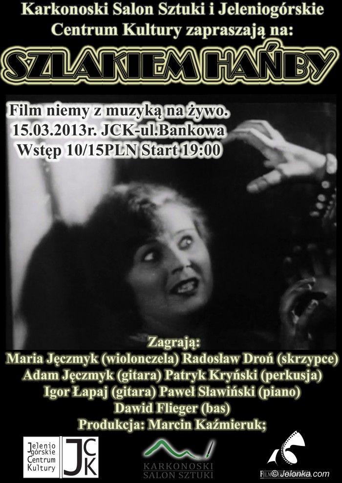 """Jelenia Góra: """"Szlakiem hańby"""" z muzyką na żywo już w piątek, w JCK"""