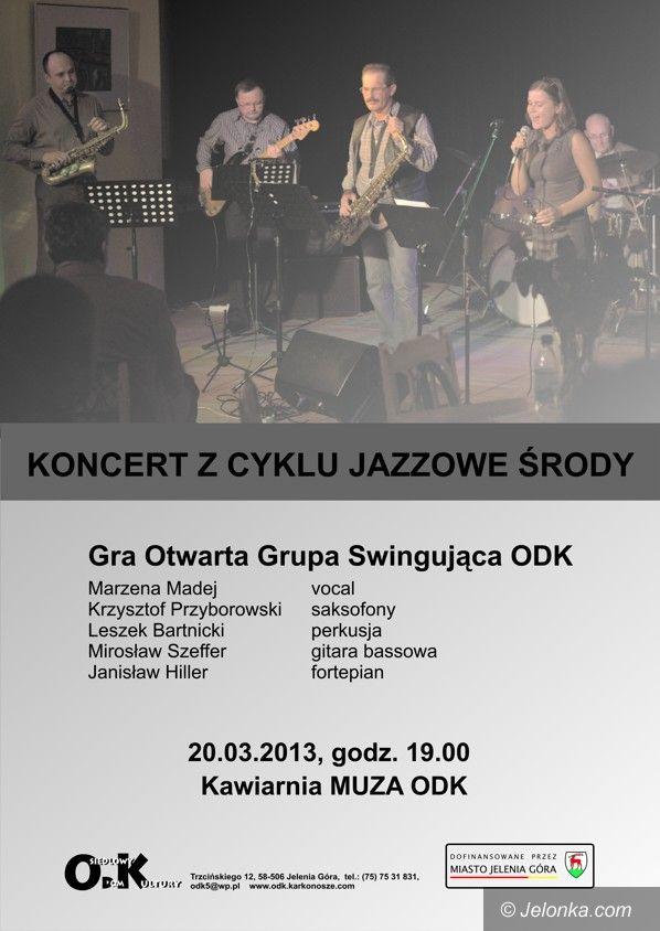 Jelenia Góra: Jazzowa środa z Grupą Swingującą