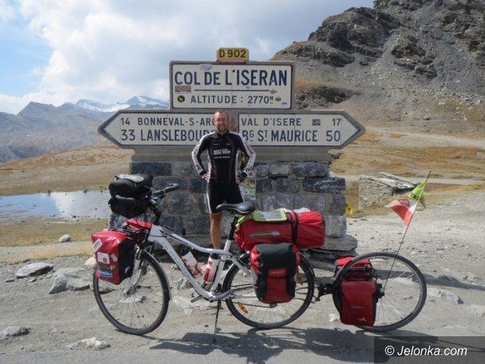 Jelenia Góra: Już wkrótce jeleniogórzanin Damian Drobyk rusza rowerem na podbój obu Ameryk