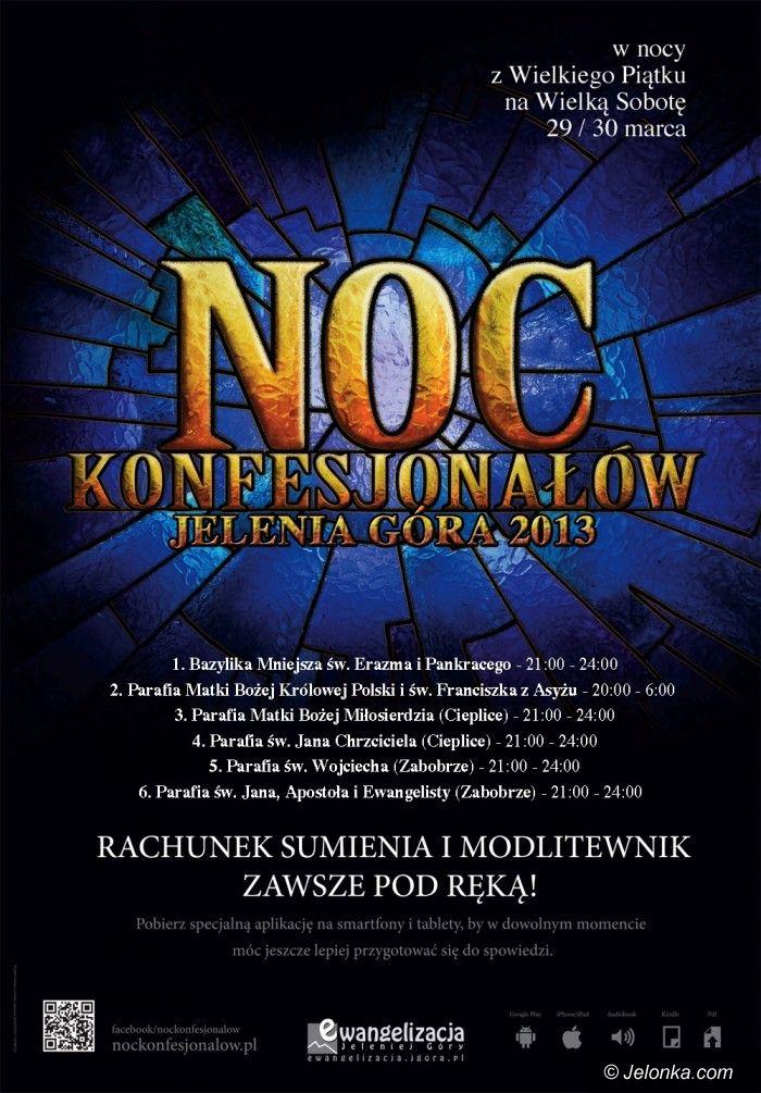 Jelenia Góra: Noc konfesjonałów w Jeleniej Górze