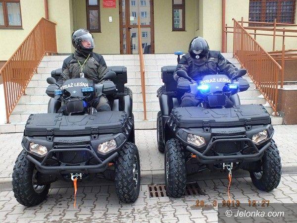 Region: Nowe quady dla strażników z Nadleśnictwa Śnieżka