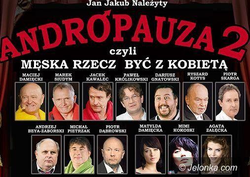 Jelenia Góra: W JCK pokażą spektakl o andropauzie