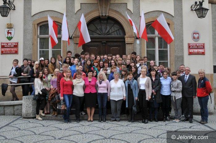 Jelenia Góra: Młodzież z Władimira odwiedziła Jelenią Górę