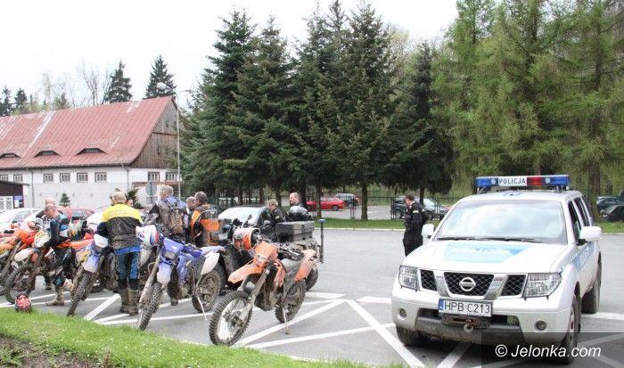 Region: Wspólne działania służb przeciwko nielegalnym rajdom i crossom