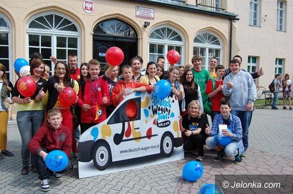 Region: Nauka nie musi być nudna, czyli Deutsch Wagen Tour w Mysłakowicach