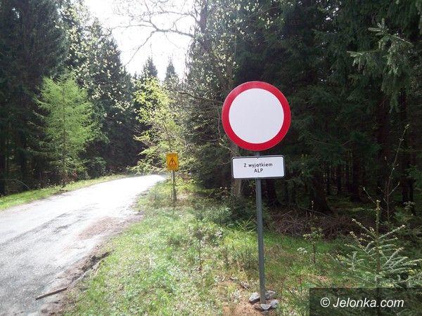 Region: Droga Sudecka niedostępna dla samochodów