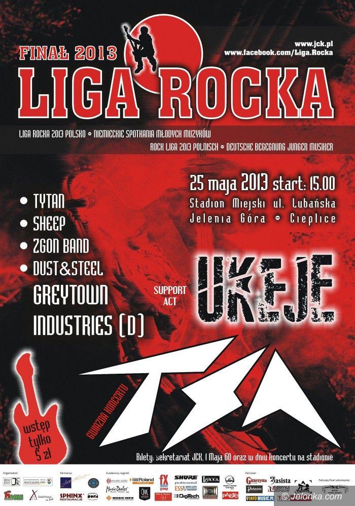 Jelenia Góra: W sobotę  Finał Ligi Rocka 2013. Z legendarną grupą TSA!