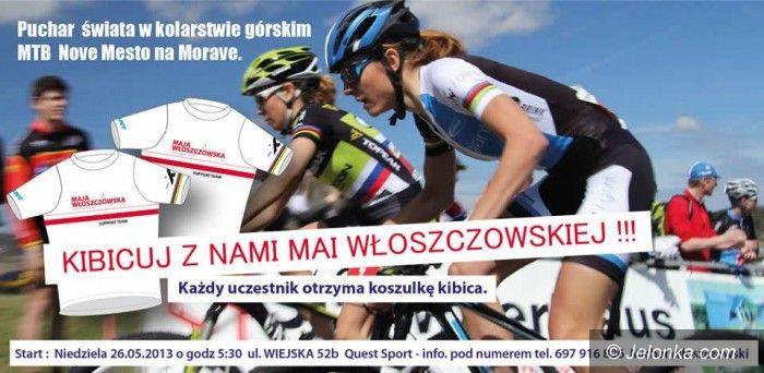 Nove Mesto: Kibicuj Mai Włoszczowskiej w Novym Mescie