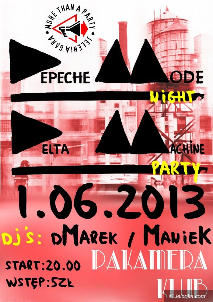Jelenia Góra: More Than A Party zaprasza na kolejną edycję Depeche Mode Night