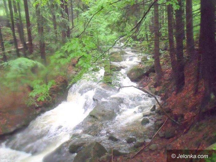 Jelenia Góra: Wodospad Wrzosówki – deszczowa atrakcja Jeleniej Góry
