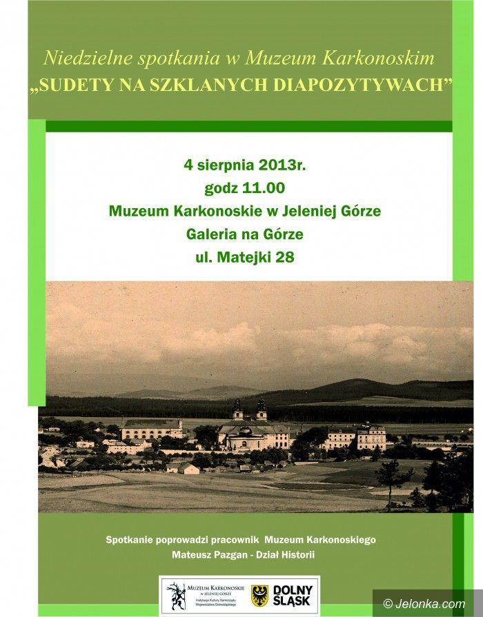 Jelenia Góra: Sudety na szklanych diapozytywach w niedzielę