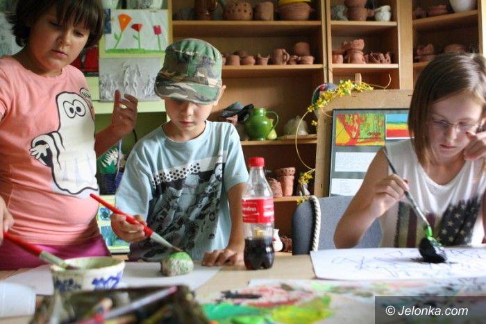 """Jelenia Góra: Dzieci z zapałem tworzyły w """"Muflonie"""""""