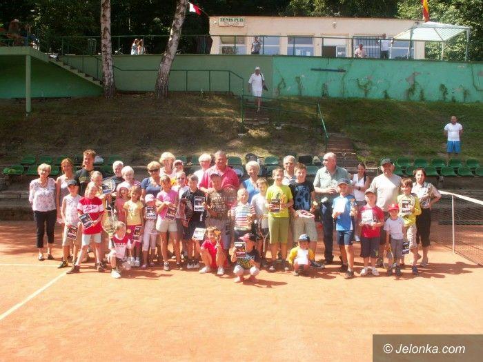 Jelenia Góra: Lato z tenisem ziemnym – Wakacje z MOS–em 2013