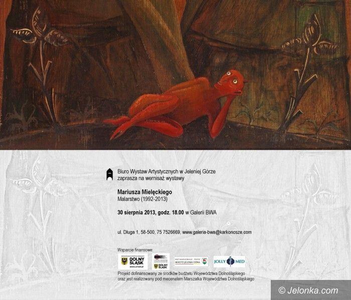 Jelenia Góra: Prace Mariusza Mielęckiego od piątku w BWA