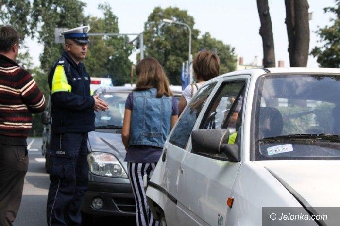 Jelenia Góra: Cztery auta zderzyły się na światłach przy Wolności