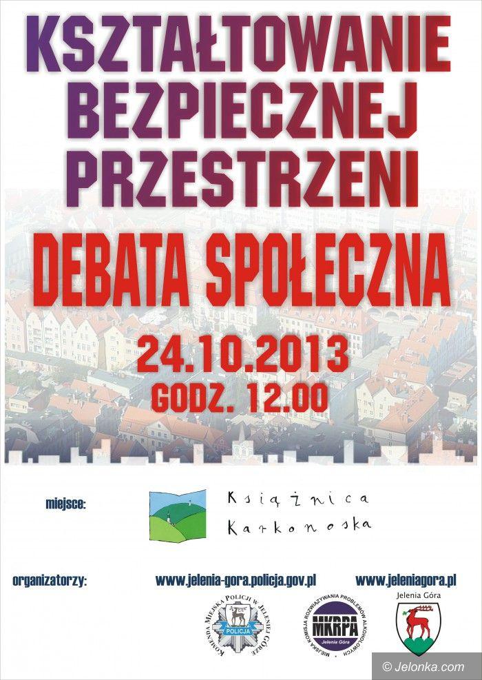 Jelenia Góra: Będzie debata o bezpieczeństwie w mieście