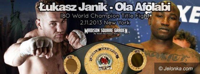 Nowy Jork: Janik – Afolabi: 4 dni do walki o mistrzostwo świata