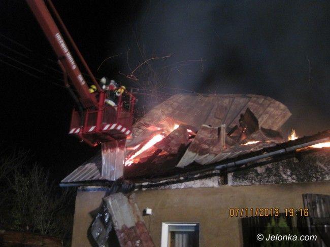 Region: Spłonął dom w Kostrzycy