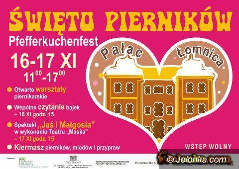 Łomnica: Święto Pierników w Pałacu Łomnica od dzisiaj