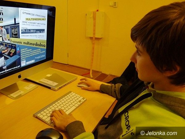 Jelenia  Góra: Przystań Twórcza ma pracownię multimedialną