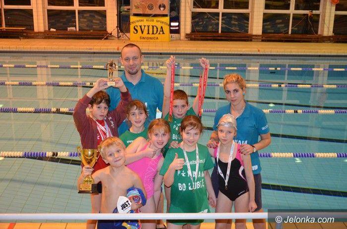 Świdnica: Kolejny dobry występ młodych pływaków Just Swim