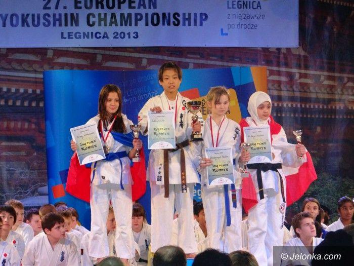 Legnica: Brąz Pauliny Włodarczyk podczas ME w karate