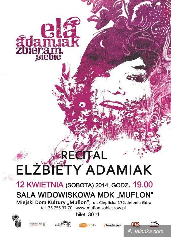 Jelenia Góra: Recital Elżbiety Adamiak w sobotę – mamy wejściówki