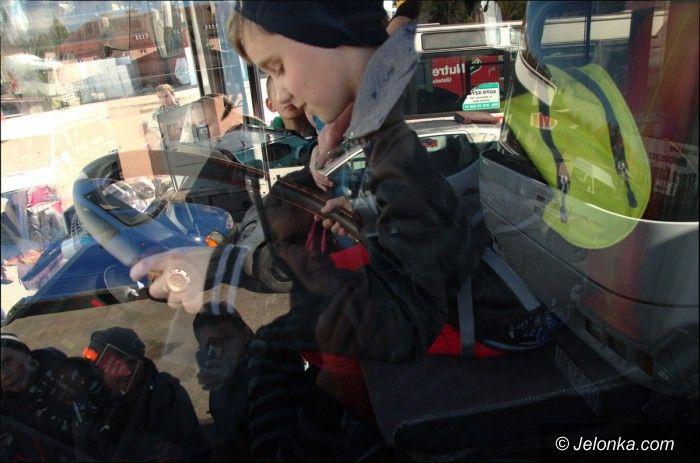 Jelenia Góra: Dzieci poznały serwis samochodowy. Było wiele atrakcji!