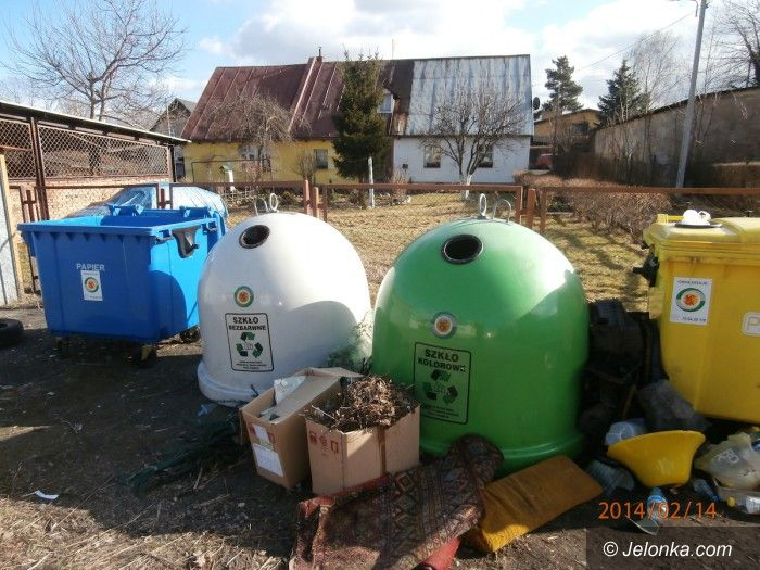 Jelenia Góra: Nocni śmieciarze