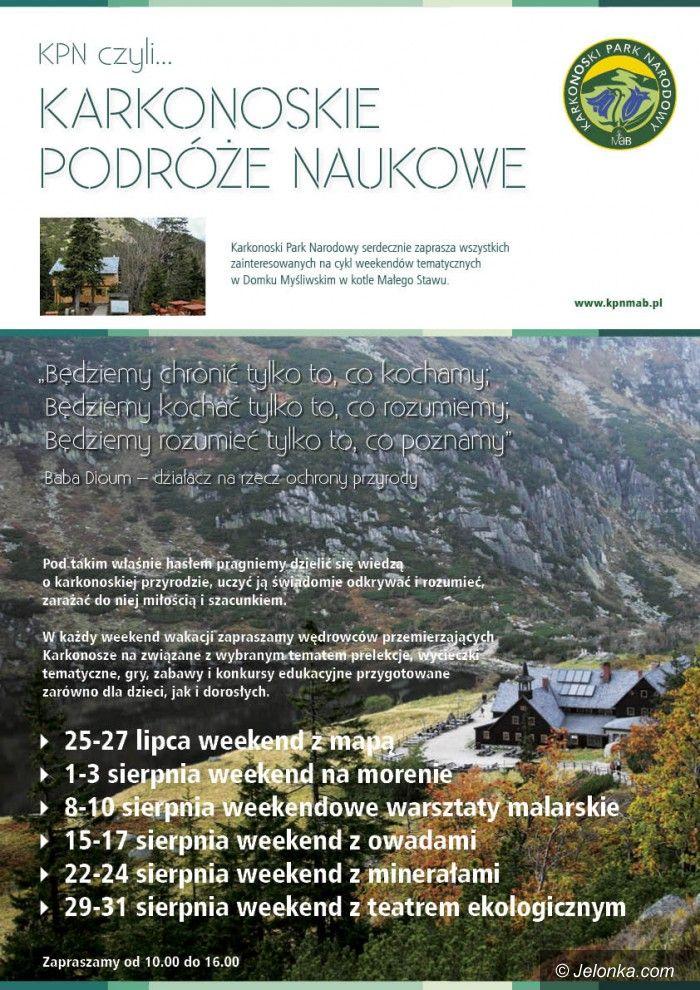 Region: Karkonoskie podróże naukowe – propozycja na lato