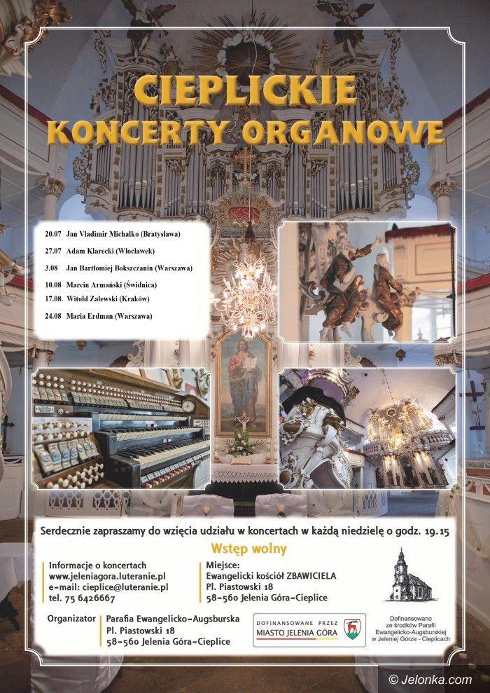 Jelenia Góra: Dziś kolejny koncert organowy w Cieplicach