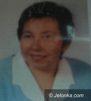 Jelenia Góra: Zaginęła Stanisława Gruszczyńska