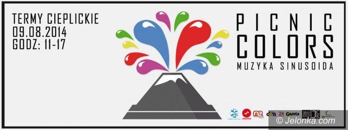 Jelenia Góra: Picnic Colors w Termach Cieplickich