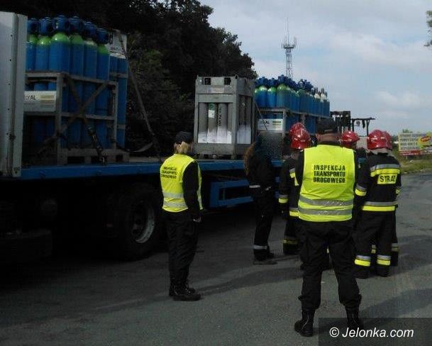 Region: Kierwca wiózł niebezpieczny ładunek mimo zakazu!