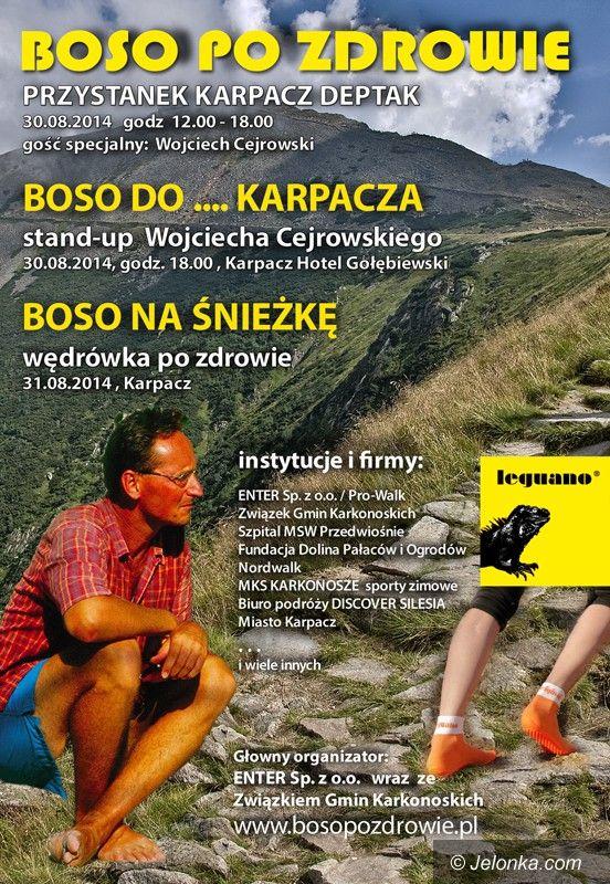Karpacz: Wojciech Cejrowski w Karpaczu