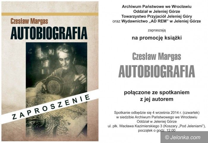 "Jelenia Góra: ""Autobiografia"" – spotkanie z autorem"