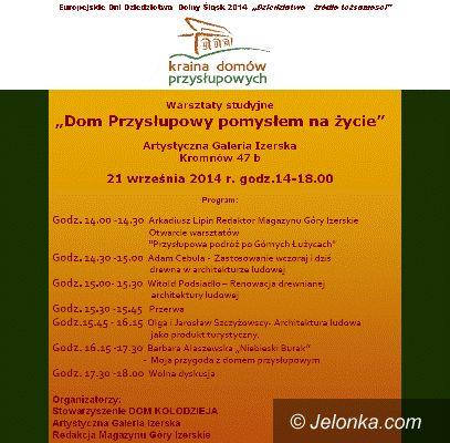 Region: Wszystko o domach przysłupowych w Kromnowie