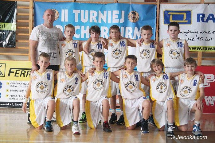 Rawicz: Młodzi koszykarze Sudetów powalczyli w Rawiczu