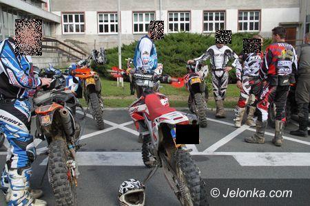 Region: Szaleli na motocyklach po lesie – zostali ukarani