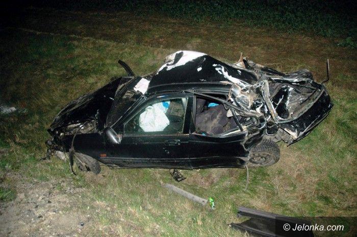 Region: Tragedia na drodze podczas ucieczki