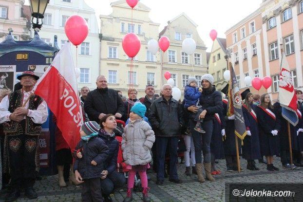 Jelenia Góra: Uczcili Dzień Niepodległości w Jeleniej Górze