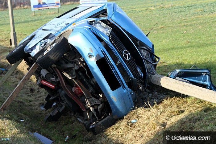 Jelenia Góra: Śmiertelny  wypadek w Piechowicach