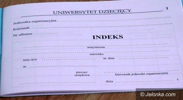 Jelenia Góra: Uniwersytet dziecięcy zainaugurował rok akademicki