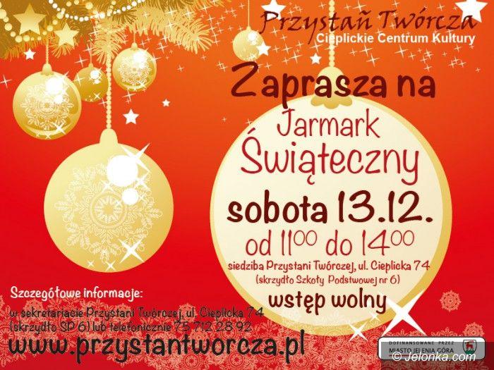 Jelenia Góra: Jarmark świąteczny w Przystani Twórczej