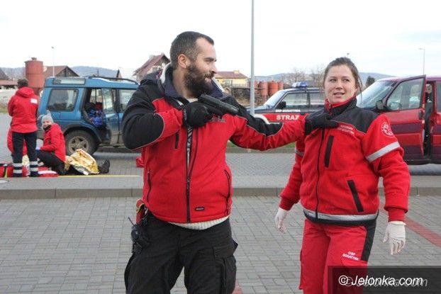 Region: Napad z bronią w Sobieszowie – to były ćwiczenia